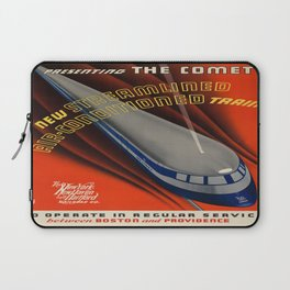 Vintage poster - The Comet Laptop Sleeve
