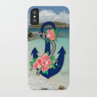 anchors iPhone & iPod Cases featuring Anchors by Bri Delasole