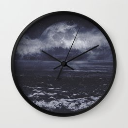 Mixed emotions Wall Clock