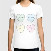sassy T-shirts featuring Sassy Hearts by laurenschroer