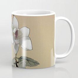 Magnolia and Tree Frog Coffee Mug