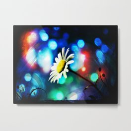 Daisy Pop Art Metal Print