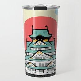 Osaka castle Travel Mug