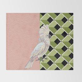 Cockatoo Vibes Throw Blanket