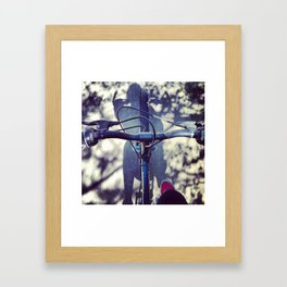BikeRider. Framed Art Print