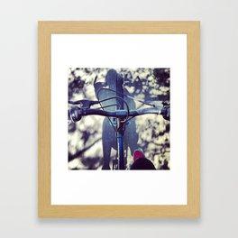 BikeRider. Framed Art Print