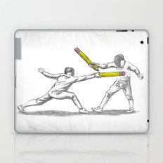 Parry Thrust Pencil Erase Laptop & iPad Skin