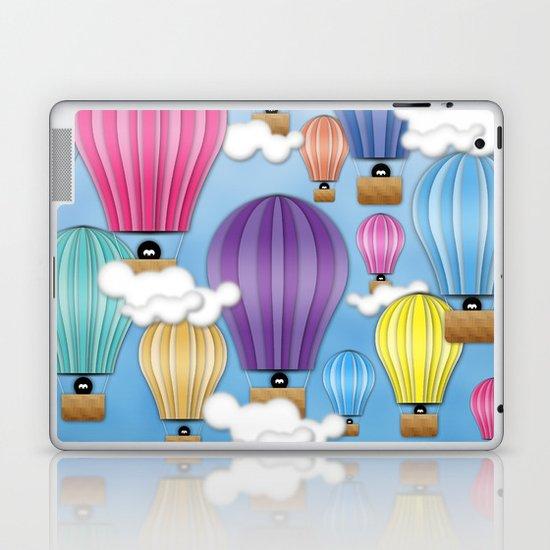 UP! UP! AND AWAAAAAAYYY!  Laptop & iPad Skin