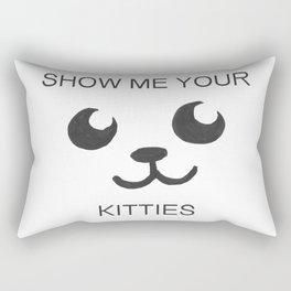 Show Me Your Tities Rectangular Pillow