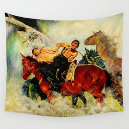 A Moment Wall Tapestry