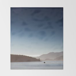 San Juan Islands Throw Blanket