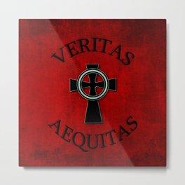 Veritas and Aequitas - Truth & Justice Metal Print