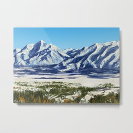 The Wasatch Front Metal Print