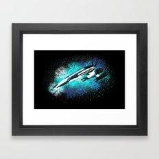Normandy SR-2 (Mass Effect) Framed Art Print