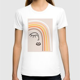 Rainbow State of Mind - earthy T-shirt