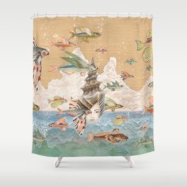 Sea dream Shower Curtain