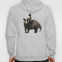 Gnome on Badger Hoody