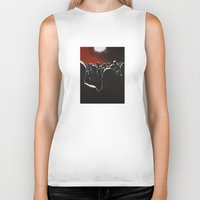 it crowd Biker Tanks featuring Crowd by Shelley Chandelier