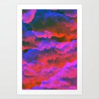 moss Art Prints featuring Moss by Tyler Spangler