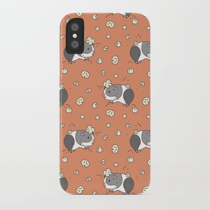 detailed look ef056 a48ba Guinea pig Pattern, Popcorning iPhone Case by noristudio