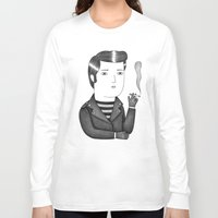 elvis Long Sleeve T-shirts featuring Elvis by Ana Albero