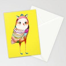 Pretty Owl. Kids decor - nursery decor - owl art Stationery Cards
