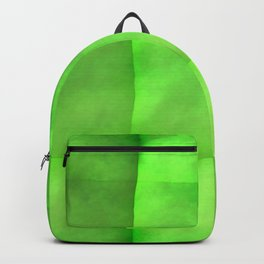 Green paper Backpack