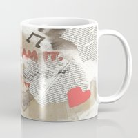 rocky horror picture show Mugs featuring Rocky Horror - Don't Dream It... by Mel (life_like_disney)