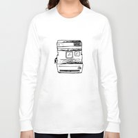 polaroid Long Sleeve T-shirts featuring polaroid by brittcorry