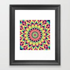 Summer Mandala 5 Framed Art Print