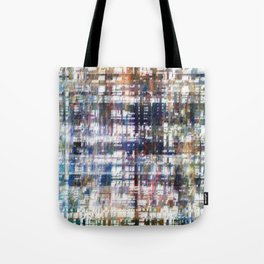 Contrasted, sorted; contorted source. Tote Bag