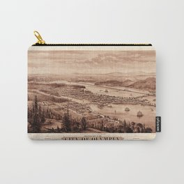 Map Of Olympia 1879 Carry-All Pouch