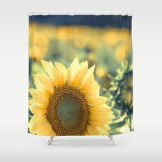 In The Sunlight Shower Curtain