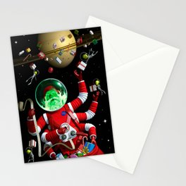 In space no one can hear you jingle Stationery Cards