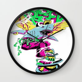 Dare to Fly Wall Clock