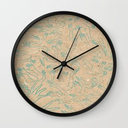 Into the mosh pit Wall Clock
