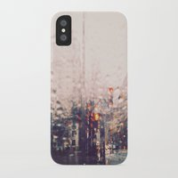 dc iPhone & iPod Cases featuring DC Rain by elle moss