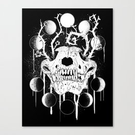 Wings of Sin Collaboration Canvas Print