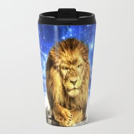 Grumpy Lion Travel Mug