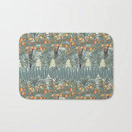 orange tree Bath Mat