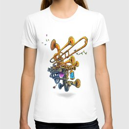 Music Brass Machine T-shirt
