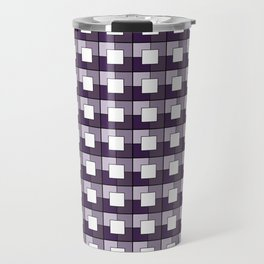 Purple Squares. Manchester Architectural Collection Travel Mug