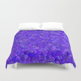 Sapphires and Amethysts Duvet Cover