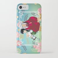 inuyasha iPhone & iPod Cases featuring Inuyasha & Kagome by Neo Crystal Tokyo