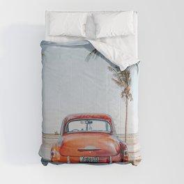 summer in cuba ii Comforters