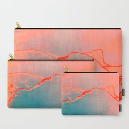 BETTER TOGETHER - LIVING CORAL by MS Carry-All Pouch