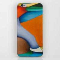 literary iPhone & iPod Skins featuring No Meio do Caminho (In The Middle Of The Road) by Fernando Vieira