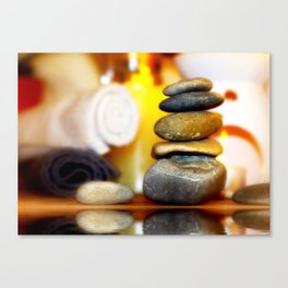 Spa and relax Canvas Print
