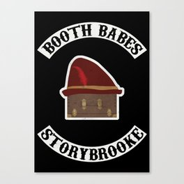 Booth Babes (Fake Motorcycle Club) Canvas Print