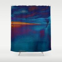 skyline Shower Curtains featuring Skyline by Stephen Linhart